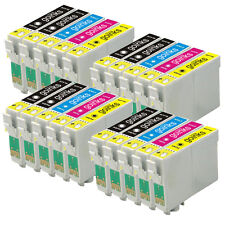 20 Cartucce d'Inchiostro per Epson Stylus DX5000 DX9400F SX400 S20