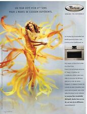 Publicité Advertising 2006 Le Four encastrable Whirlpool