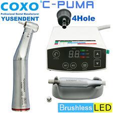 COXO Dental Brushless LED Electric Motor C PUMA 4 Hole 1:5 Fiber Optic Handpiece