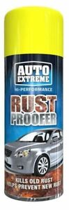Rust Proofer Spray Paint Kills Old Rust & Helps Prevent New Rust Protect 400ml