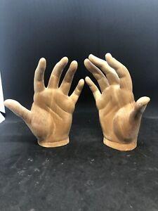 Mani Aperte Donna Madonna legno scultura legno scultura wood 16 cm