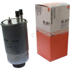 Original MAHLE / KNECHT KL 567 Kraftstofffilter Filter Fuel