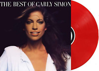 The Best Of Carly Simon Exclusive Limited Edition Translucent Red Color Vinyl LP