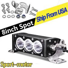 2X 36W 6inch Spot LED Work Light Bar Offroad Fog Driving Jeep SUV 4WD Truck 6''