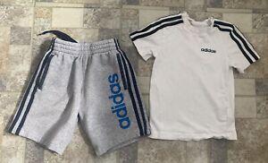 Adidas Shorts And T Shirt Age 6-7 Years