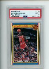 1988-89 Fleer Michael Jordan #120 All-Star Team PSA 9 MINT Chicago Bulls