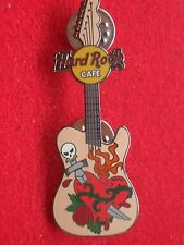 HRC HARD ROCK CAFE online tattoo guitar Series 2005 February Skull Dagger le300
