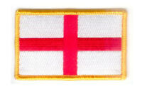 ST George/'s Cross London Underground Flag 7x6cm Embroidered Patch// Badge// Logo