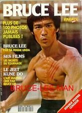 M-190 BRUCE LEE SPECIAL PHOTO MAGAZINE KARATE BUSHIDO HORS SERIE #8 VERY RARE.