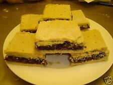 3 x LARGE HOMEMADE VEGAN CAKE SULTANA/CURRANT SQUARES - EGG & DAIRY FREE