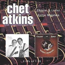 Chester & Lester/Guitar Monsters by Chet Atkins/Les Paul (CD, Oct-1998, One Way
