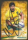 ✺Signed✺ 2016 WALLABIES Rugby Union Card WILL SKELTON