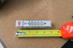 "Dwyer RMA-22 flowmeter,  0-25 LPM, new no box, 1/8"" ports, 12-month warranty"