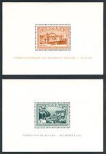 ESPAÑA - AÑO 1937 - EDIFIL 836/37** - HOJAS BLOQUE ALZAMIENTO NACIONAL - MNH
