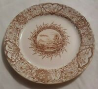 """Antique Grindley Tunstall 1883 Aesthetic Transferware IDEAL Dinner Plate 9 1/4"""""""