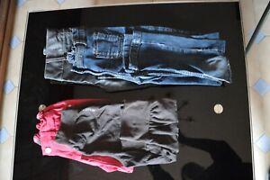 Lot 34 vêtements fille 7 ans ( 11 pièces )