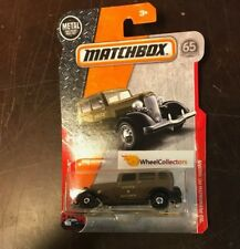 '33 Plymouth PC Sedan * Brown * 2018 Matchbox Case C * NG7