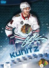 2019 BLADES ICE SIGNATURE CHRIS KUNITZ 150cc Topps NHL Skate Digital Card