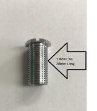 Threaded Screw / Bolt For  Kitchen Sink Strainer / Bath Waste 13mm Dia