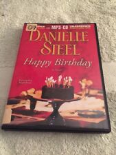 Happy Birthday by Danielle Steel (2011, MP3 CD, Unabridged) Audiobook