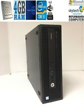 HP EliteDesk 800 G2 SFF Intel Core i5-6500 6th GEN @ 3.2GHz 4gb 256gb SSD WIN 10