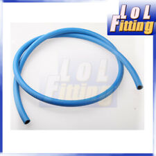 "6AN AN-6 Push Lok Loc Lock Hose Fuel Coolant 3/8"" Blue"