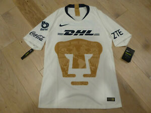 NWT Nike 2018/19 MEXICO Pumas UNAM Authentic White Home Jersey (Men Size Large)