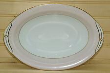 "Noritake Royal Pink Oval Vegetable Serving Bowl 10 1/2"" x 7 1/4"" Vintage 1950's"