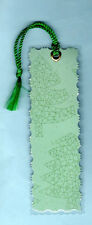Bookmark Decoration Book Green Pine Xmas Tree Gifts Him Her