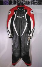 Bering Track One Piece Motorcycle Leathers Race Suit - Large / EU 52 / UK 42