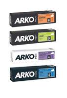 ARKO Men Shaving Creams Hydrate,Max.Comfort,Extra Fresh,Sensitive 100g