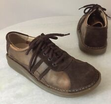 Dr Martens 8A70 Air Wair Suede Leather Lace Up Oxfords Shoe Women's Size US 6