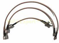 Motorola Repeater GR1225 Duplexer 3 Cable KIT RX & TX RG400 N Male - Mini UHF