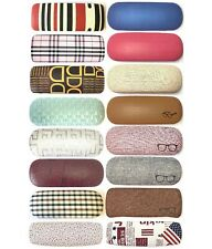 Fashion Stylish Pattern Covered Hard Glasses Case Spectacle Reading Storage Case