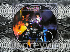 Prince Purple Rain Brand New Picture Disc with Printed PVC Printed sleeve