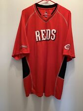 Cincinnati reds mens Majestic Size XL Lightweight Polyester,Excellent Condition