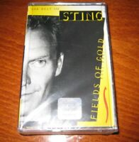 THE BEST OF STING - FIELDS OF GOLD '84-'94 MADE IN BULGARIA Cassette BG Edition