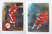 1997-98 Pacific Dynagon #41 Fedorov Sergei  silver  wings
