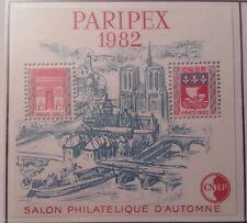 Feuillet-Souvenir CNEP N°3A PARIPEX - Avec 1 pont