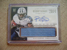 Bishop Sankey 2014 National Treasures Auto Jersey Rc 22/25 Tennessee Titans Nice