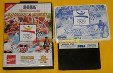 OLYMPIC GOLD BARCELONA '92 Sega Master System Versione Italiana »»»»» COMPLETO