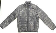 NWT AEROPOSTAL Grey, Puffer Warm Winter Jacket, Down-Like Poly Fill, Sz L (J307)