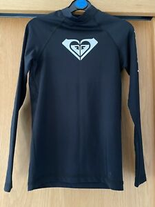 Girls Roxy Rash Vest Age 12 Years (Small Fit) Immaculate!!