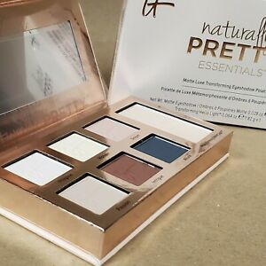 It Cosmetics Naturally Pretty Essentials Matte Luxe 6 Eyeshadow Palette New!