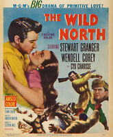 16mm trailer for THE WILD NORTH. Stewart Granger 1952 classic western.