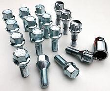 Car wheel bolts inc locking M12 x 1.5, 17mm Hex, taper seat - Vauxhall x 16