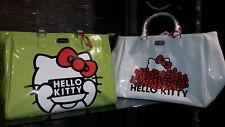 Hello Kitty Borsa a mano grande bianco o verde Super Scontata