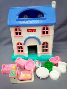 Fisher-Price Little People Dolls House  A72766 plus Accessories
