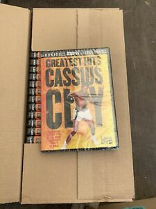 25 X GREATEST HITS: CASSIUS CLAY -  DVD - NEW SEALED- JOBLOT
