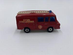 Vintage Lesney Matchbox Series No 57 Land Rover Fire Truck